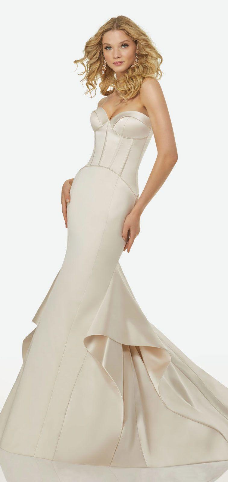 Randy fenoli bridal wedding dresses mermaid gown gowns and