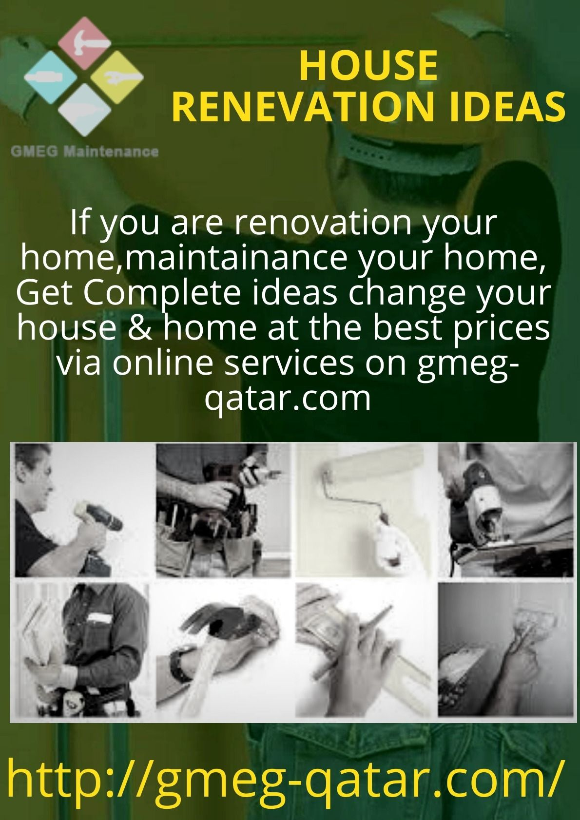 Pin by Gmeg Qatar on Home Maintenance Services in Qatar