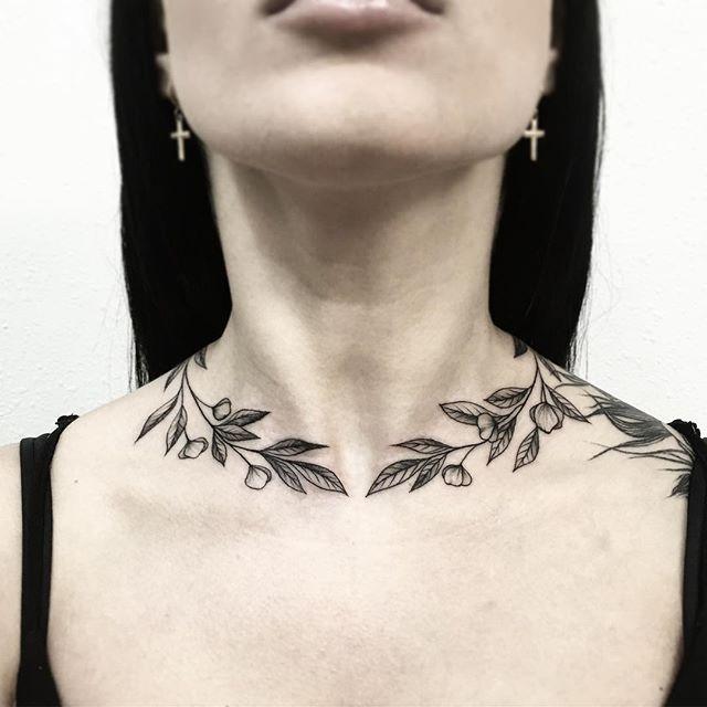 Pinterest Karinab00 Neck Tattoos Women Girly Tattoos