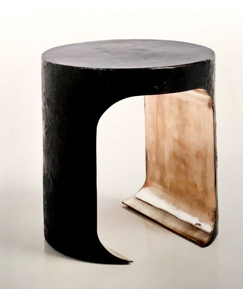 Amazing Side Table Hellmet Gold In 2019 Thierry Lemaire Table Beatyapartments Chair Design Images Beatyapartmentscom