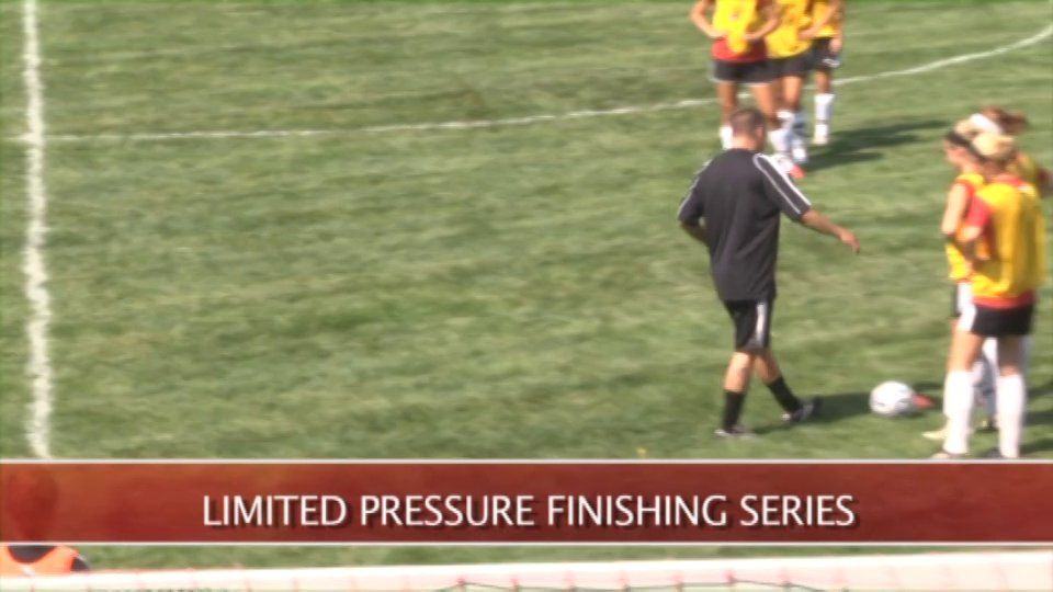 Limited Pressure Finishing Drill Brandon Koons Otterbein Univ Soccer Coaching Otterbein
