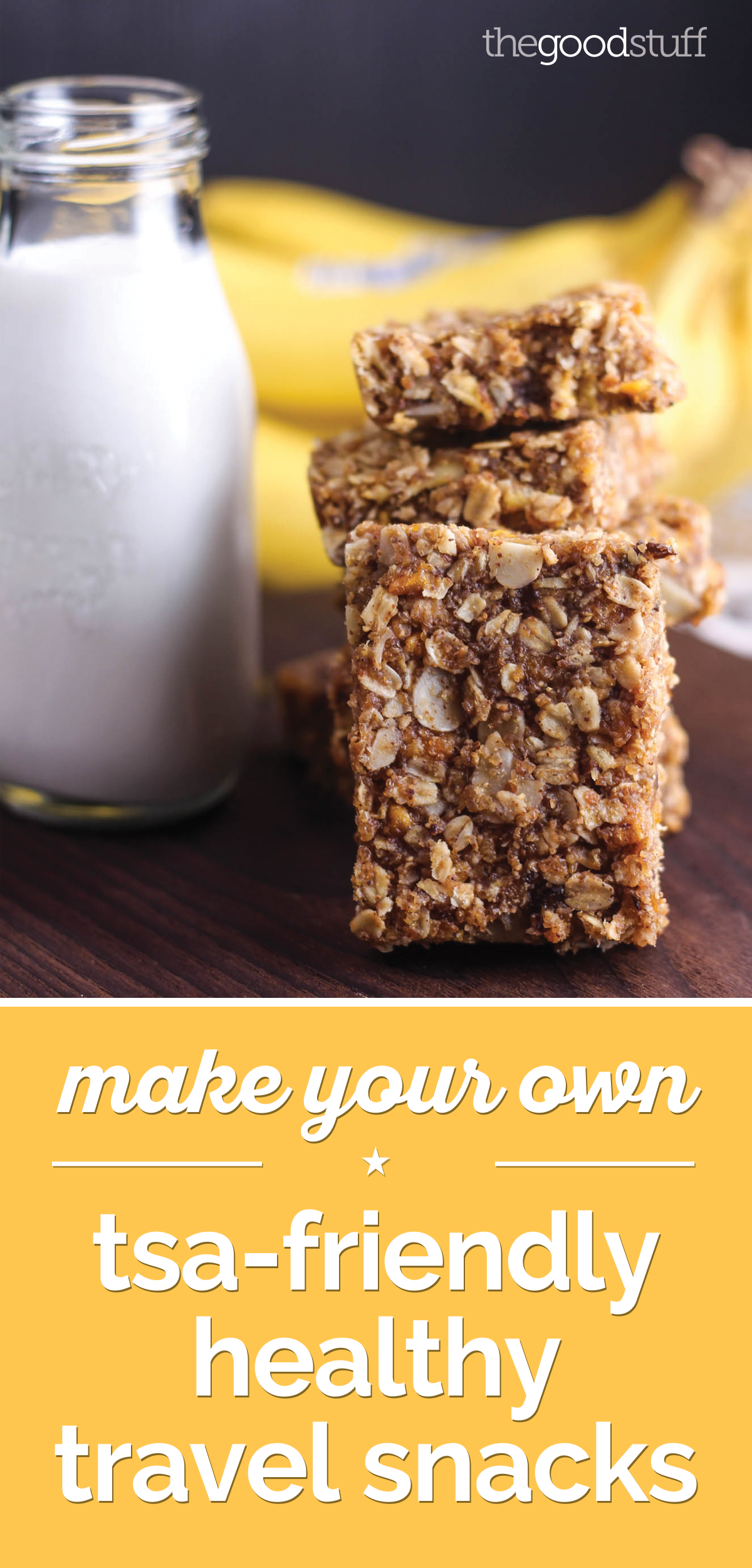 Make Your Own TSA-Friendly Healthy Travel Snacks! | thegoodstuff