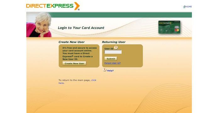 Direct Express Sign In Debit Card