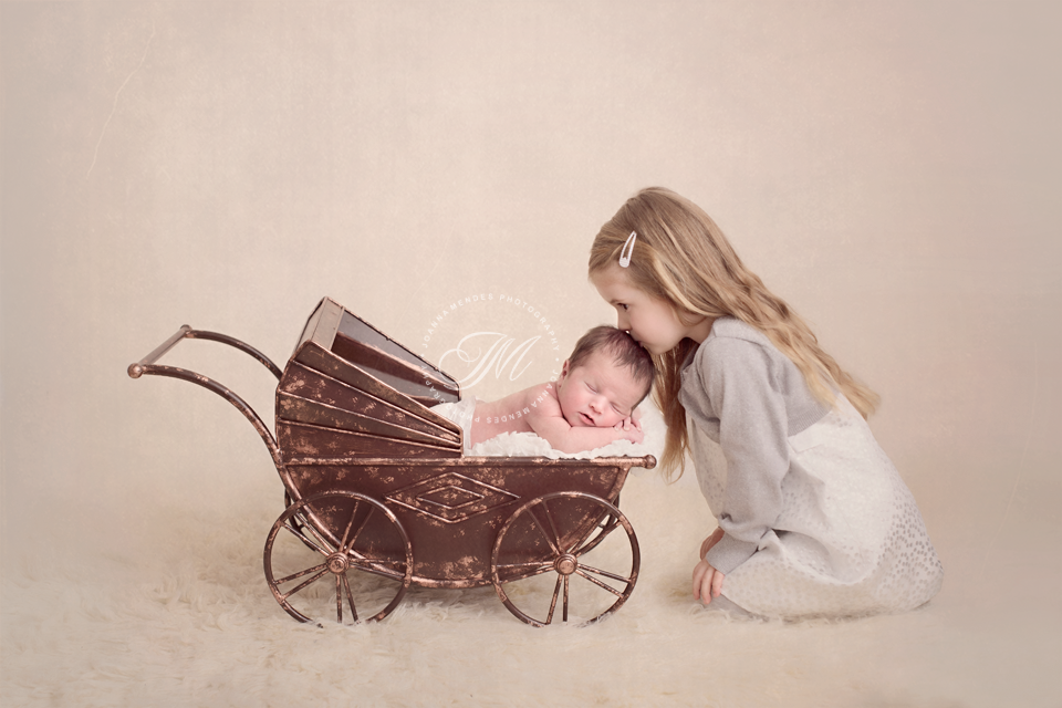 Photography · vintage metal pram baby photography prop