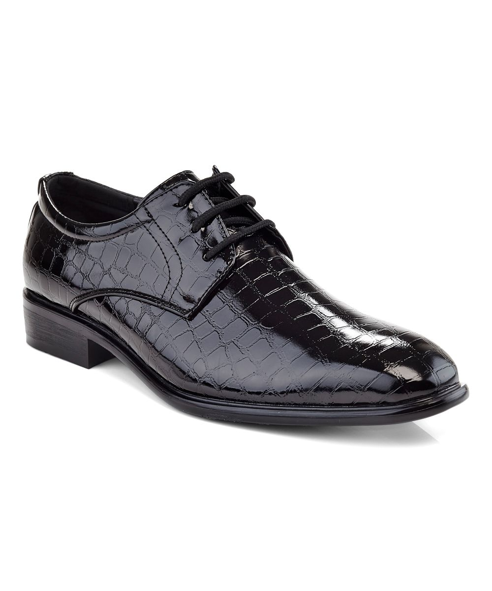 Black CrocEmbossed Oxford Products Pinterest Black Oxford