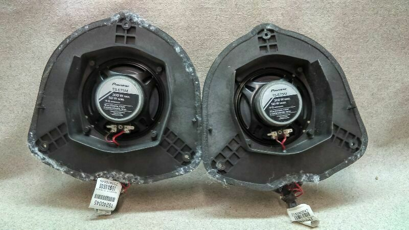 Pioneer Ts 675m Door Speakers With Brackets Fits Trailblazer B1 12