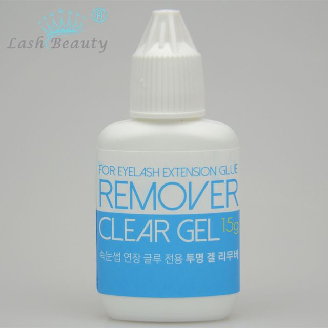 15ml Clear Gel Remover For Eyelash Extension Glue From Korea