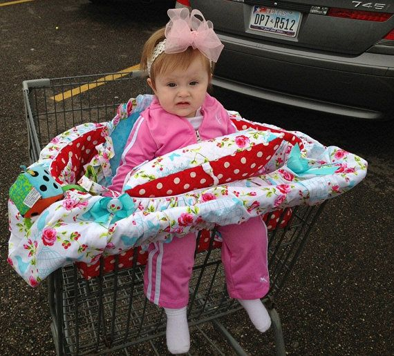 Baby Shopping Cart CoverThe Unpuppy Cart Cover  by rendachs, $135.00