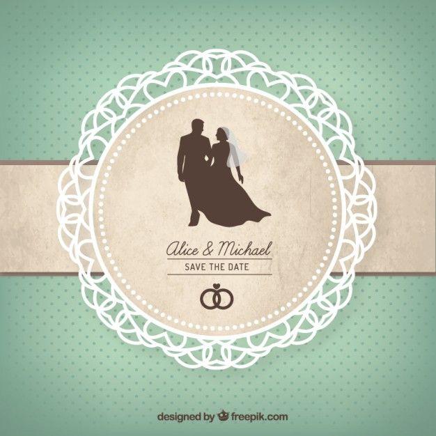 Carto bonito do casamento wedding card wedding graphics and carto bonito do casamento wedding invitation stopboris Images
