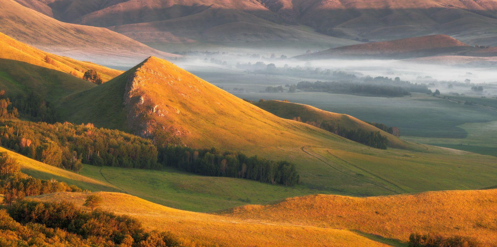 Misty dawn in the Southern Urals by Marat Akhmetvaleev on 500px