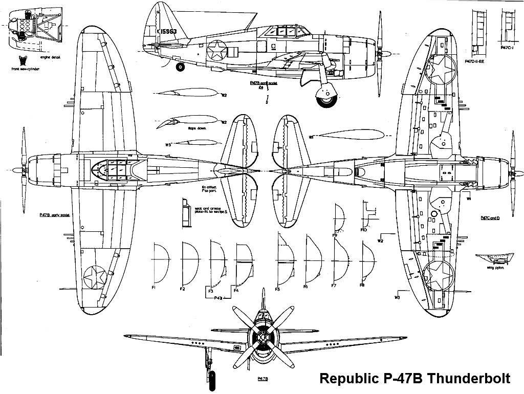 Blueprint P47