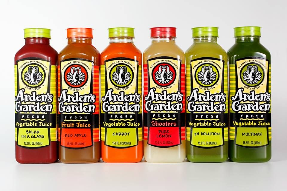 Arden S Garden Started With Arden Zinn And Her Juicer When She Just Made Juice For Her Friends Soon Enough It Became Arden Garden Woodstock Hot Sauce Bottles