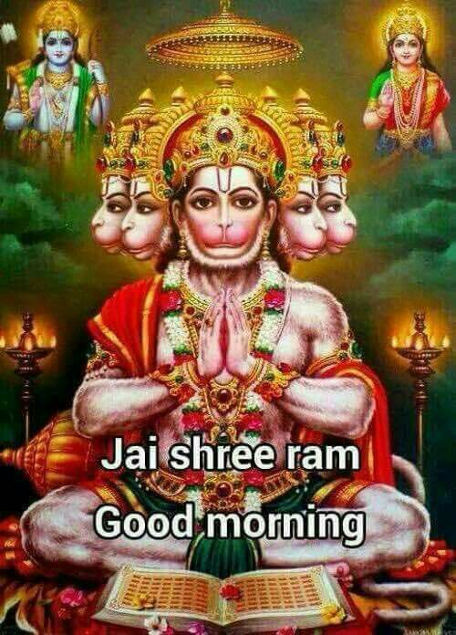 Good Morning Images With God Hanuman Archidev