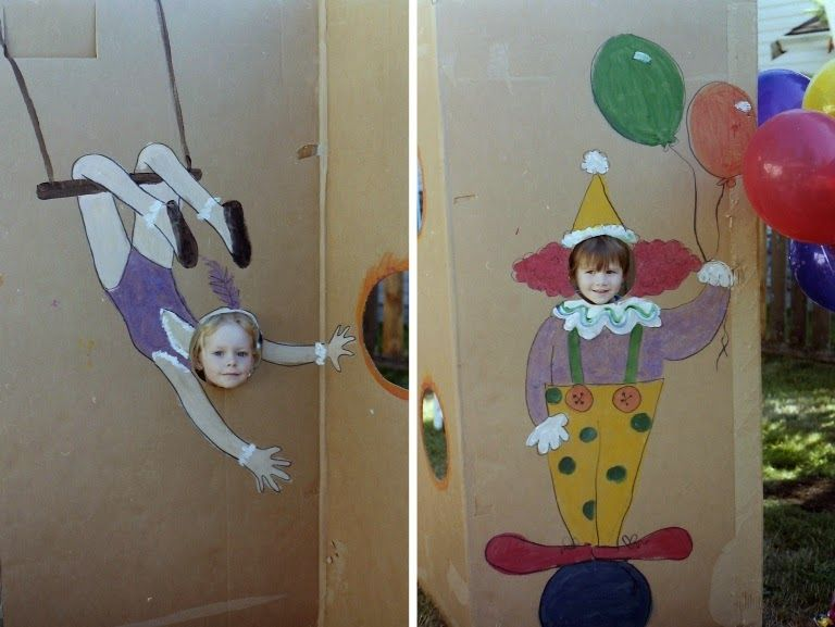 Party Time Mysteries: Thursday's Theme of the Day: Circus Party