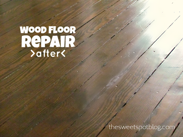 Wood Floor Repair How To Woods Diy Organization And Organizations