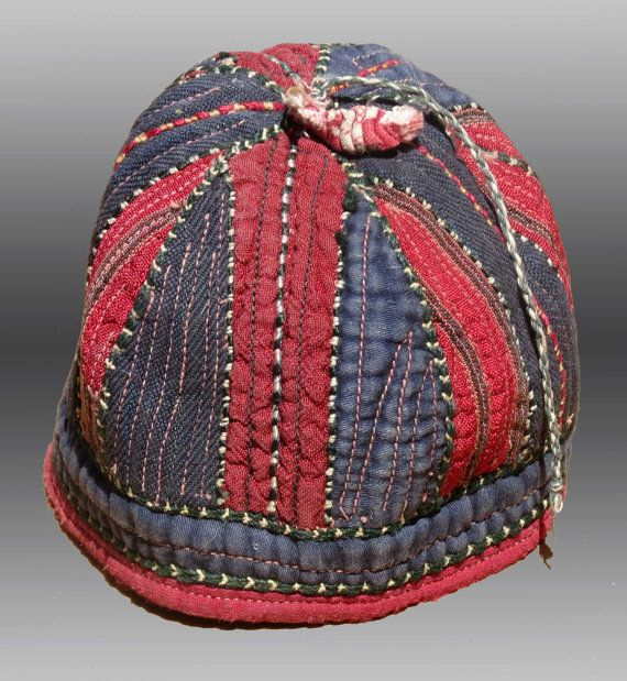 VINTAGE CLOTHING Yomut Turkmen HAT Central by tcEclecticImages