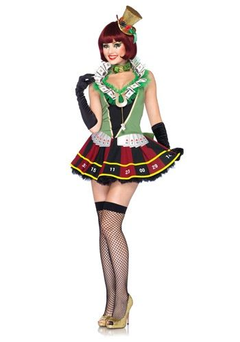 ac1e499c99d9 Lady Luck Casino Costume | Halloween | Casino dress, Vegas casino ...