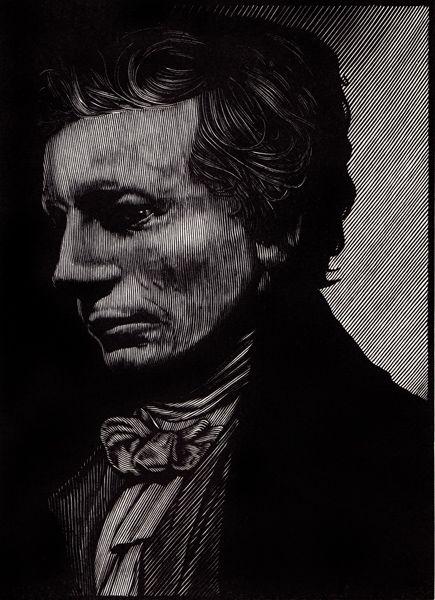 Barry Moser - Portrait of John Keats | R. Michelson Galleries