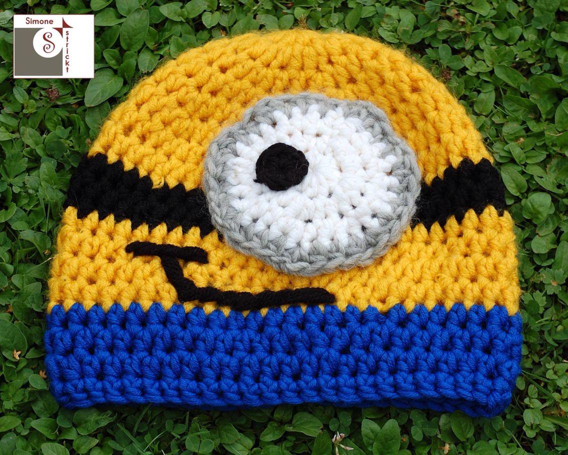 Minion #Mütze | Mützen | Pinterest | Minion mütze, Mütze und ...