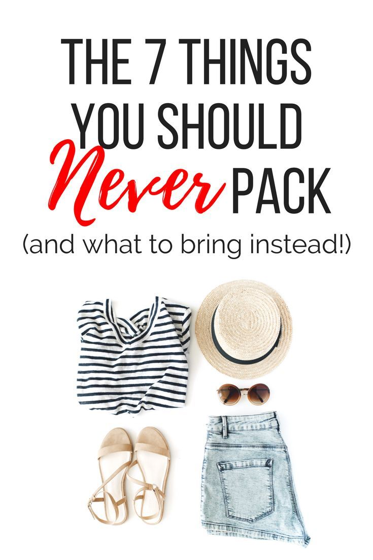 When you're getting ready to leave for a trip, your packing list is your bes When you're getting ready to leave for a trip, your packing list is your bes...