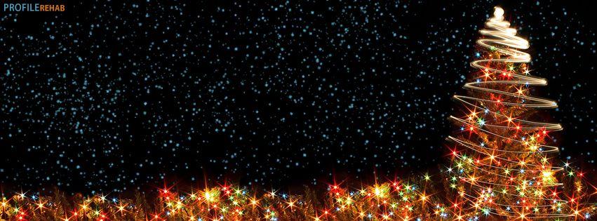 Christmas Facebook Cover.Christmas Tree Lights Facebook Cover Via Profile Rehab