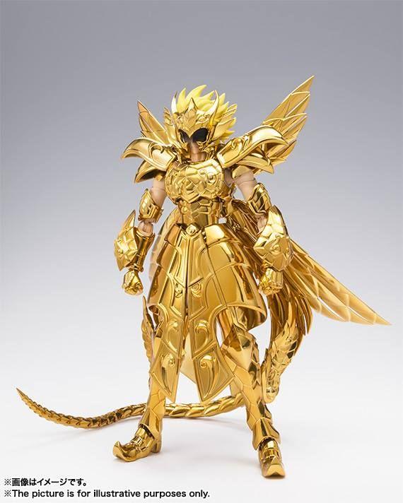 Great Toys Saint Seiya Myth Cloth EX Gold Final Andromeda Andromède Shun Figure