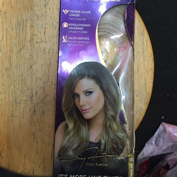 Hair Extensions Boutique Dark Golden Blonde Daisy Fuentes And