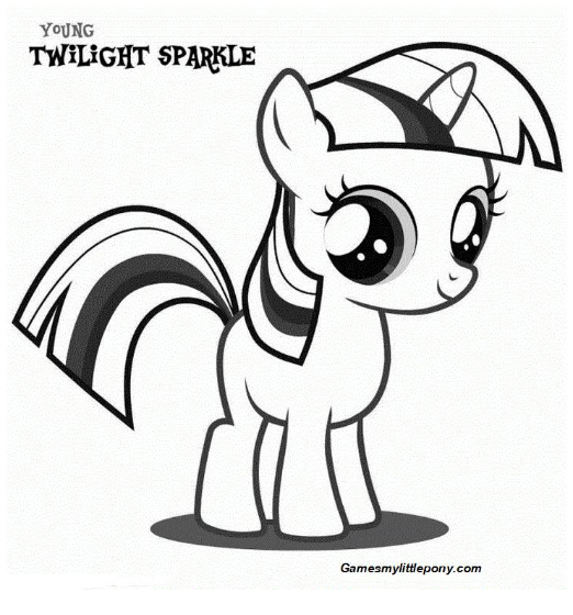 Coloring Book My Little Pony Twilight Sparkle My Little Pony Coloring Coloring Books My Little Pony Twilight