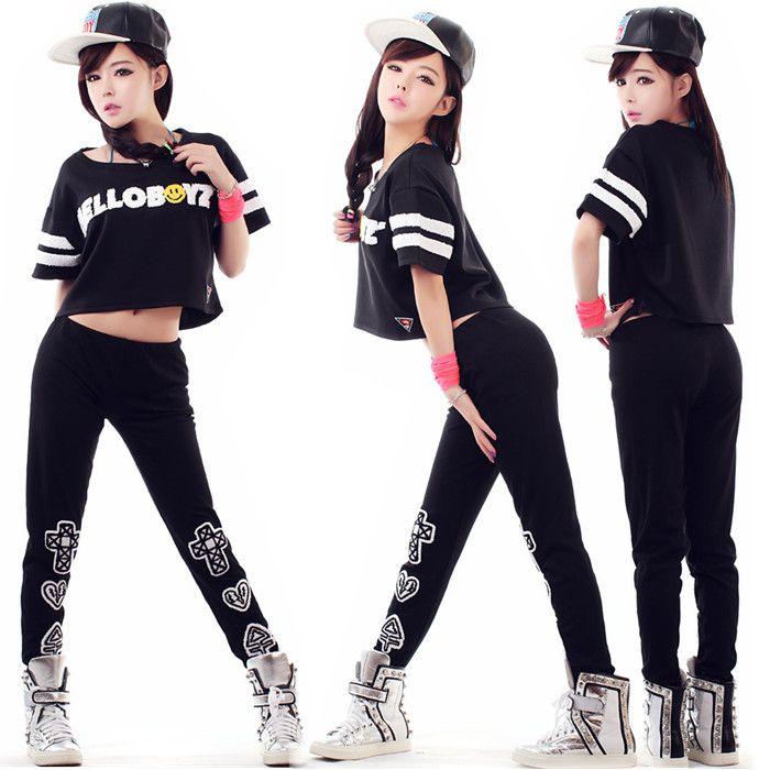 Hip hop roupas femininas para danu00e7a - Pesquisa Google | Fantasias | Pinterest | Hip hop Roupas ...