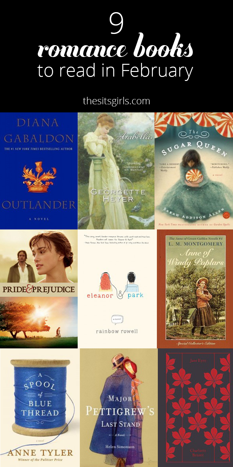 Our Favorite Romantic Books To Read In February Love Reading Challenge Libros