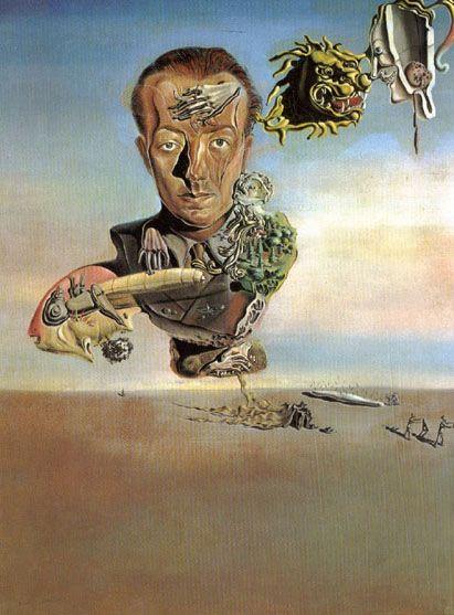 Retrato de Paul Eluard.