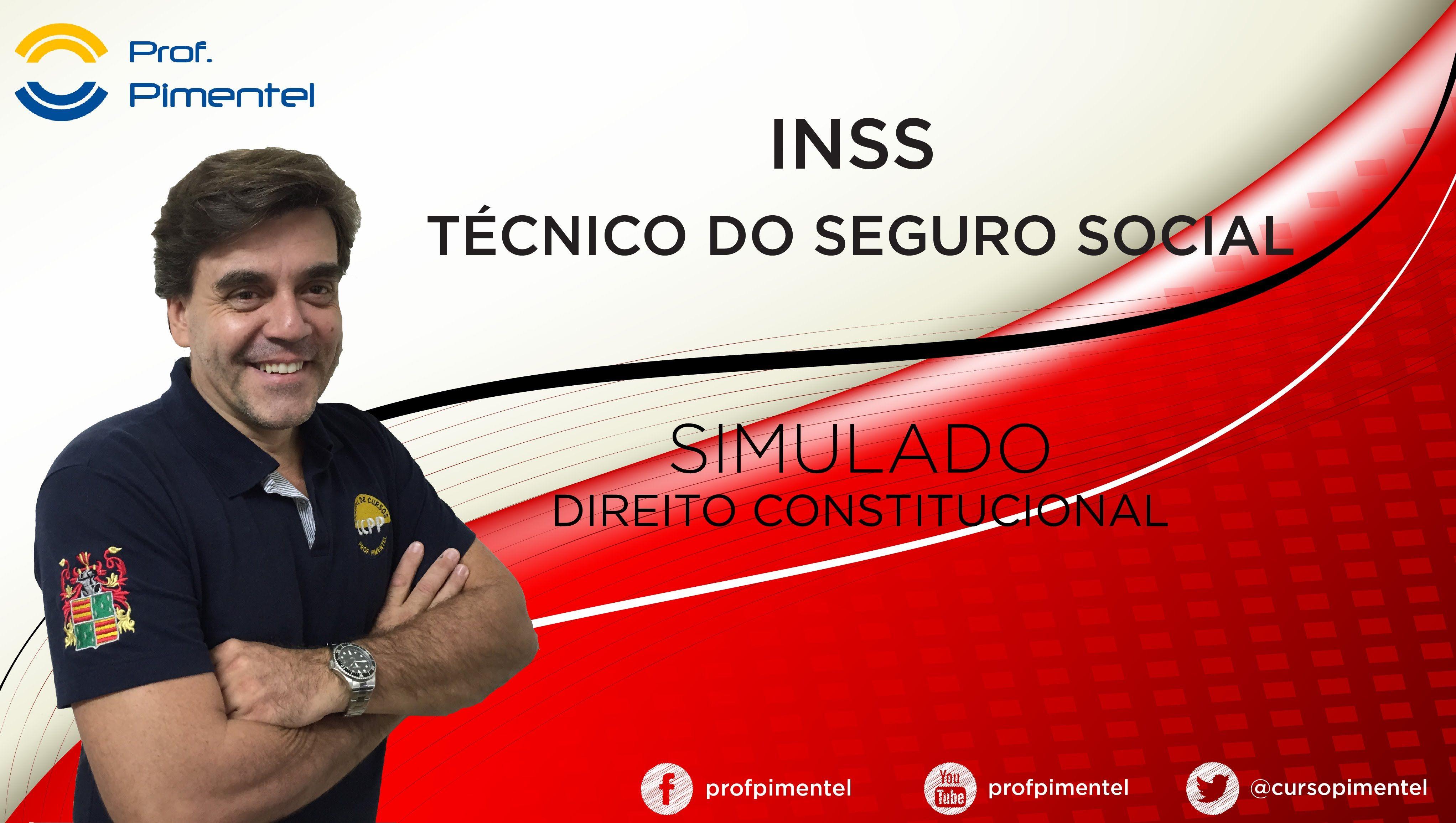 Correção Simulado do INSS - Direito Constitucional  http://w500.blogspot.com.br/