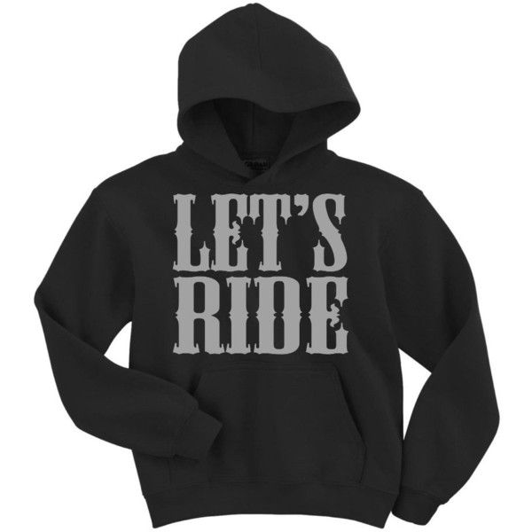 Activewear\ Apparel Let's Ride Hoodie Sweatshirt and other