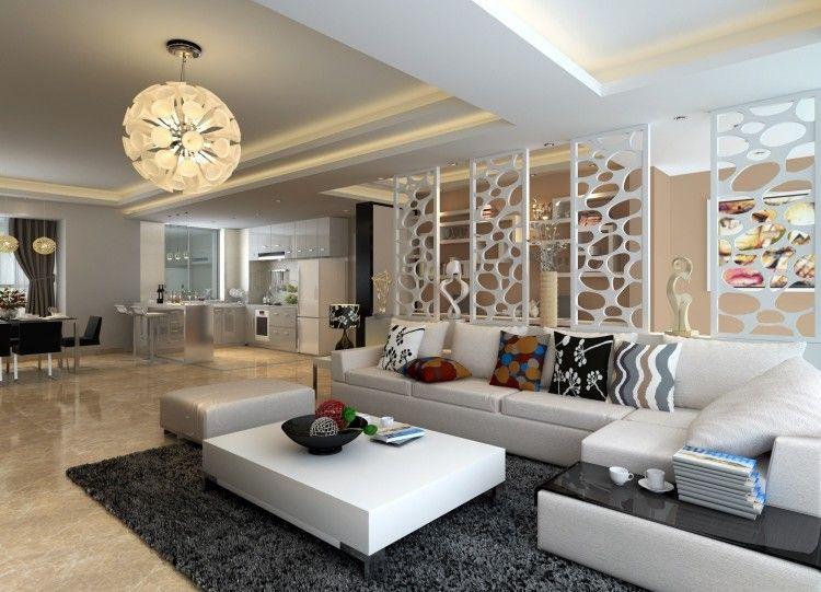 Marmorboden zu Hause \u2013 25 Beispiele für stilvolle Interieure