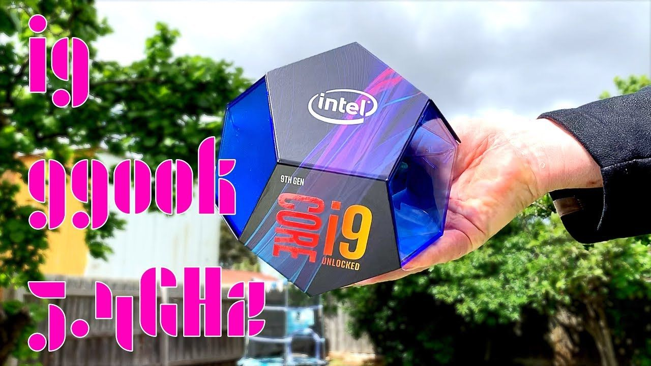 i9 9900K Retail Unboxing and Overclock 5 4GHz Gaming