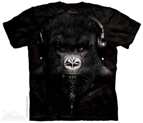 camiseta gorila dj caesar - original the mountain   blusas ... dce856ad70