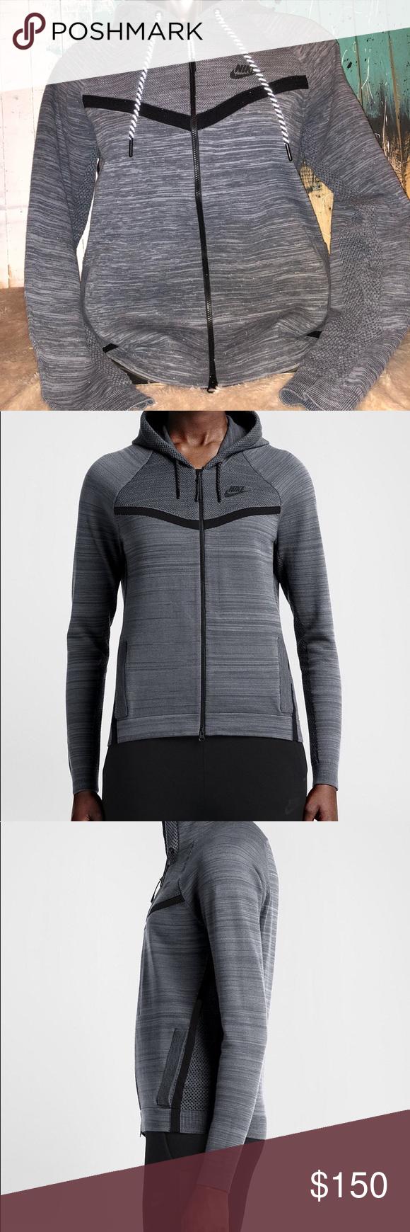 817f69042d4e Nike Women s Sportswear Tech Knit Jacket Nike Women s Sportswear Tech Knit  Windrunner Jacket Size Medium New With Tags Retail  250 Nike Jackets   Coats