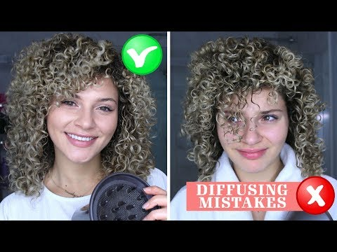 48 4 Curly Hair Diffusing Mistakes That Everyone Makes How To Fix Them Youtube Curly Hair Styles Curly Hair Styles Naturally Curly Girl Method