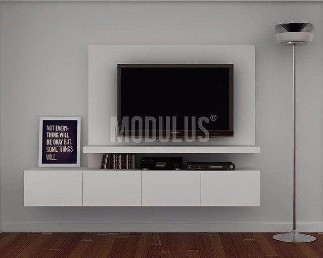 Repisas para tv modernas