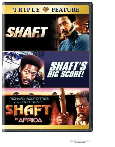 "The ""Shaft"" Collection: Shaft (1971)/Shaft's Big Score (1972)/Shaft in Africa (1973) DVD (Warner Home Video)"