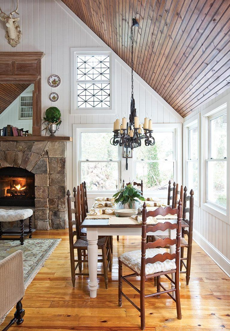 Delightful Mountain Farmhouse Home Decor Ideas 13