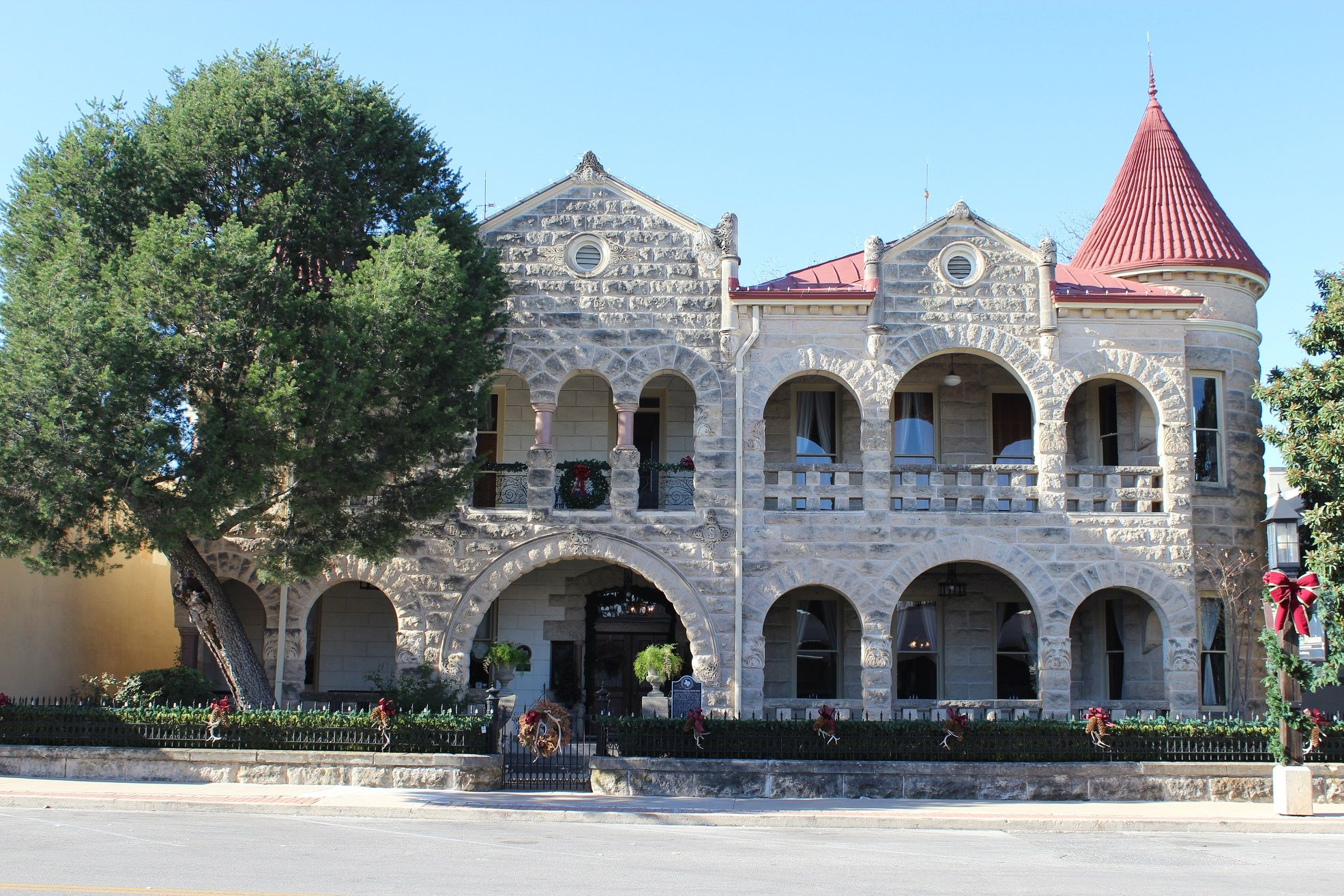 Schreiner Mansion, Kerrville Mansions, Kerrville, House
