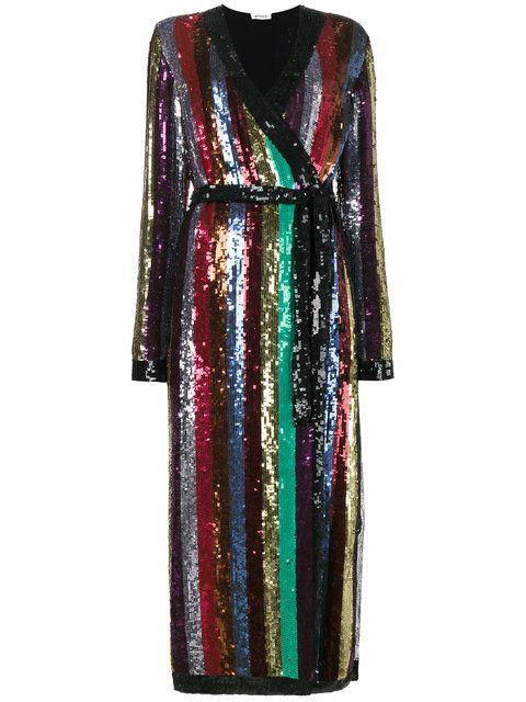 6b5d51d477371 Shop Attico Sequin Embellished Midi Dress. | Attico in 2019 | Sequin ...
