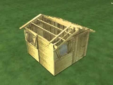 plan de cabanes en bois ,abris,tchenique de construction,modele ...