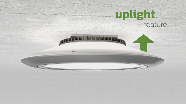Philips Gardco Softview Led Parking Garage Luminaire Uplight