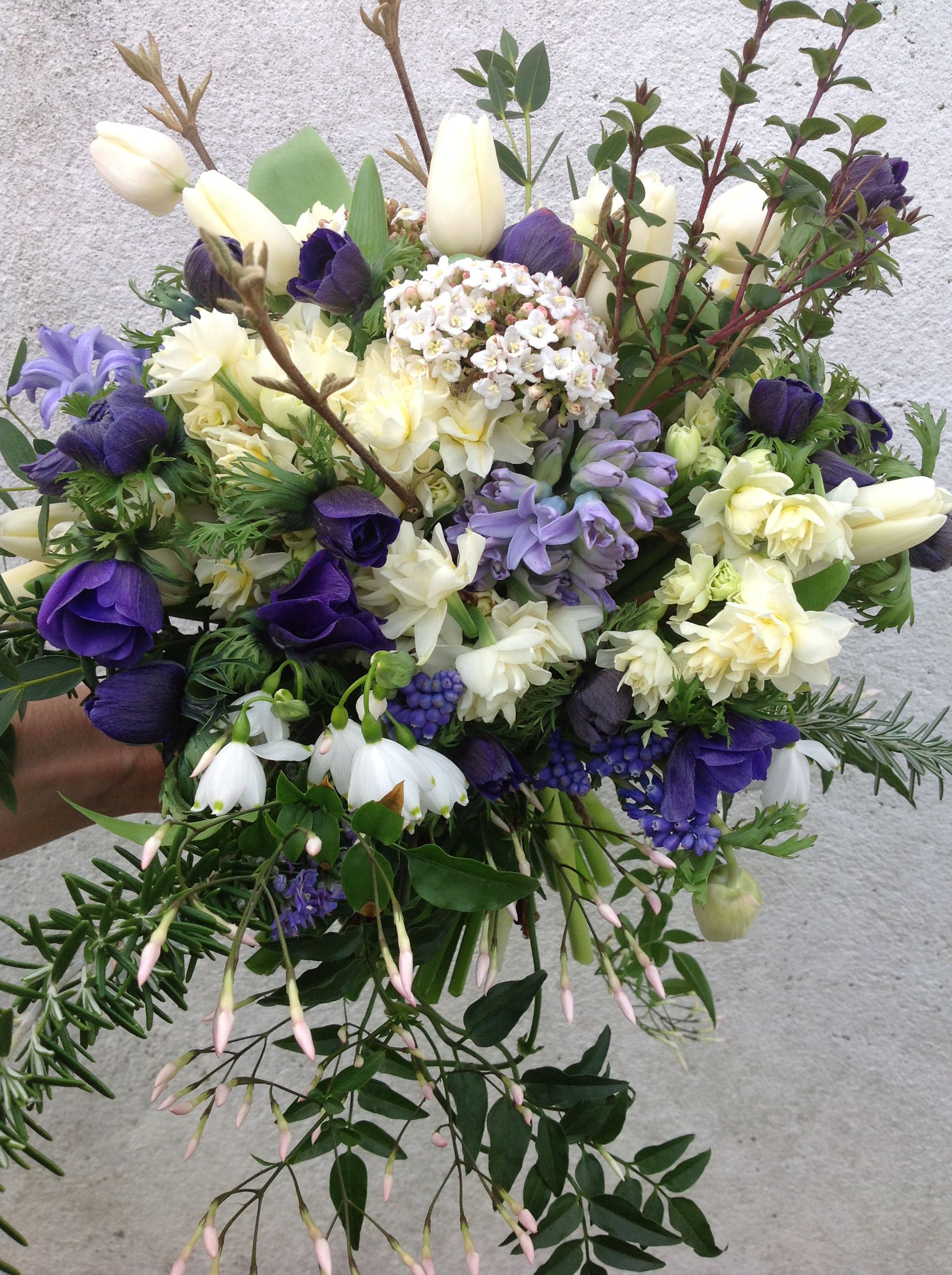 February Bridal Bouquet By The Garden Gate Flower Company I Love