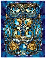 Blodeuwedd the Owl - Cross Stitch Embroidery Pattern