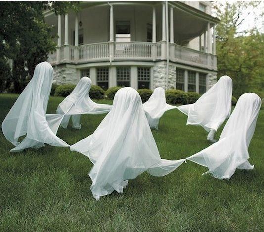 Dancing Lawn Ghosts