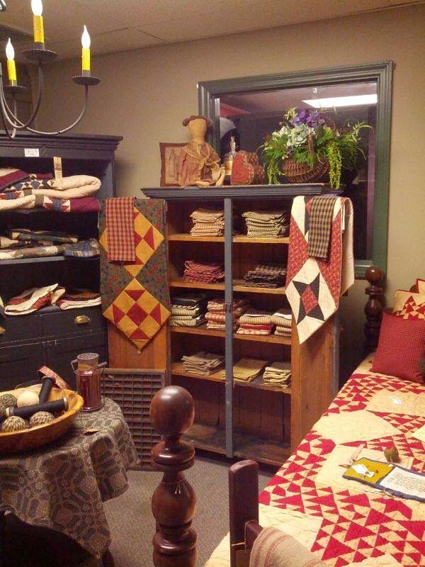 My Colonial Home Lancaster Pa Shopping Prim Decor Rooms