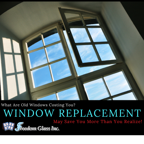 What Are Old Windows Costing You Window Replacement May Save You More Than You Realize Old Windows Window Replacement Windows